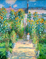 Claude Monet: The Artist's Garden at Vétheuil