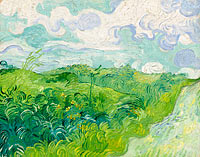 Винсент Ван Гог: Green Wheat Fields, Auvers