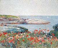 Frederick Childe Hassam: Poppies, Isles of Shoals