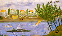 Village by the River, fourth quarter 19th century
