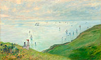 Claude Monet: Cliffs at Pourville