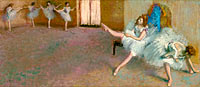 Edgar Degas: Before the Ballet