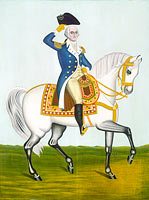 General Washington on a White Charger
