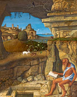 Saint Jerome Reading