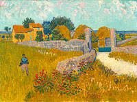 Vincent van Gogh: Farmhouse in Provence