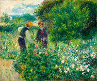 Pierre-Auguste Renoir: Picking Flowers