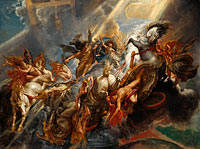 Peter Paul Rubens: The Fall of Phaeton