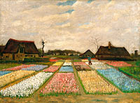 Vincent van Gogh: Flower Beds in Holland