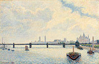 Camille Pissarro: Charing Cross Bridge, London