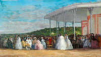 Eugène Louis Boudin: Concert at the Casino of Deauville