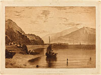 Inverary Pier, published 1811
