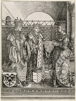 Альбрехт Дюрер: The Betrothal of Philip the Fair with Joan of Castile