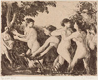 Baigneuses luttant (Wrestling Bathers)