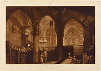 Interior of a Church, published 1819