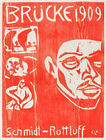 Эрнст Людвиг Кирхнер: Cover of the Fourth Yearbook of the Artist Group the Brucke