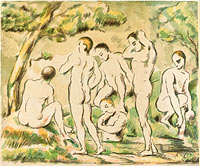The Bathers (Small Plate) (3)