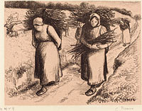 Peasants Carrying Sticks (Paysannes portant des fagots) (1)
