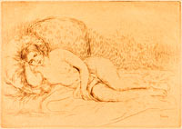 Woman Reclining (Femme couchee)