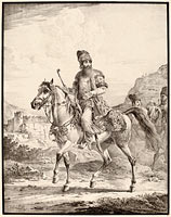 A Persian on Horseback