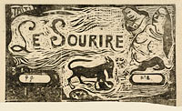 "Title Page for ""Le Sourire"" (Titre du Sourire), in or after 1895 (3)"