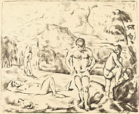 The Bathers (Large Plate) (3)