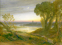 Сэмюэл Палмер: The Curfew (of: The Wide Water'd Shore), Samuel Palmer