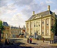 Bartholomeus Johannes van Hove: Mauritshuis in The Hague