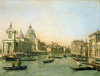 Canaletto: Entrance to the Grand Canal at the Punta della Dogana and Santa Maria della Salute