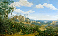 Frans Jansz Post: View of Olinda, Brazil