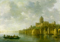 Jan van Goyen: View of the Valkhof at Nijmegen (Valkenhof at Nimeguen)