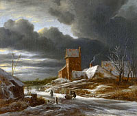 Winter Landscape, Winter landscape