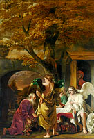 Abraham Receiving the Three Angels