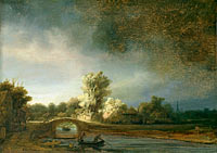 Landscape with a Stone Bridge, The Stone Bridge