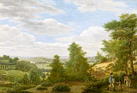 Pieter Rudolph Kleijn: View of the Valley of Montmorency near Saint-Leu-la-Forêt
