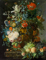 Still Life with Flowers and Fruit (4)