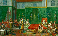 Jean Baptiste Vanmour: Lying-in Room of a Distinguished Turkish Woman