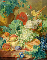 Still Life with Flowers and Fruit (3)