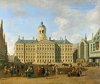 Town Hall on the Dam, Amsterdam