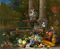 Pieter Gijsels: Still Life at a Fountain