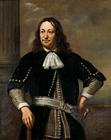 Portrait of a Sea Captain, probably Vice-Admiral Aert van Nes (formerly entitled Portrait of Johan Cornelis van der Hoop)