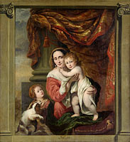 Caritas: Joanna de Geer with her Children Cecilia Trip and Laurens Trip