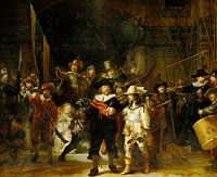 Militia Company of District II under the Command of Captain Frans Banninck Cocq, Known as the 'Night Watch', Officers and other civic guardsmen of District II of Amsterdam, under the command of Captain Frans Banninck Cocq and Lieutenant Willem van Ruytenburch, known as the 'Night Watch'