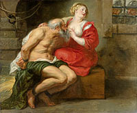 Peter Paul Rubens: Cimon and Pero (Roman Charity)