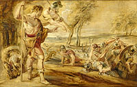 Peter Paul Rubens: Cadmus sowing dragon's teeth