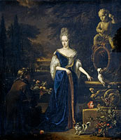 Portrait of Maria Cornelisz, Wife of Silvester van Tongeren
