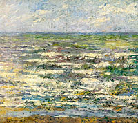 Jan Toorop: The Sea near Katwijk, Sea at Katwijk