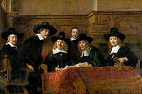 The Wardens of the Amsterdam Drapers' Guild, Known as 'The Syndics', The syndics: the sampling officials (wardens) of the Amsterdam drapers