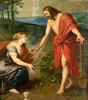 Noli me tangere, Christ Appears to Mary Magdalene