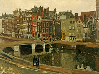 George Hendrik Breitner: The Rokin in Amsterdam