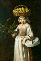 The Vegetable Seller